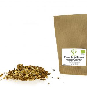 ekologiczna granola jabłkowa