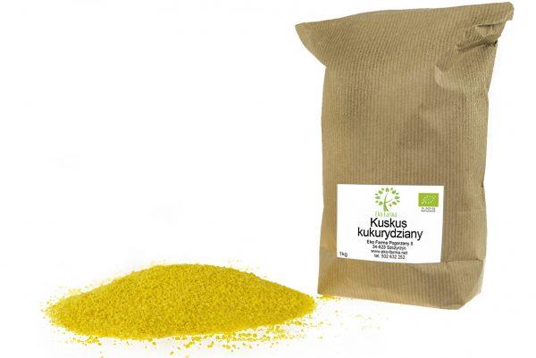 ekologiczny kuskus kukurydziany