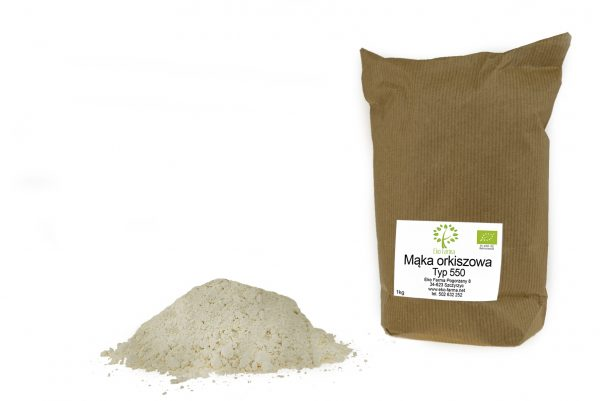 ekologiczna orkiszowa mąka luksusowa 550