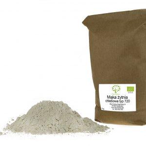 ekologiczna mąka żytnia chlebowa typ 720