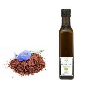 ekologiczny olej lniany