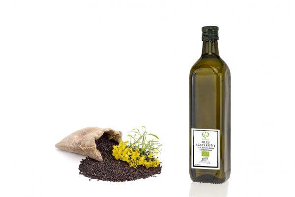 ekologiczny olej rzepakowy 750ml