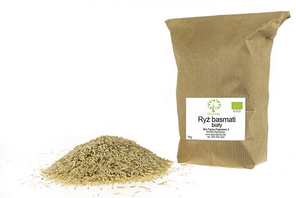 ekologiczny ryż basmati