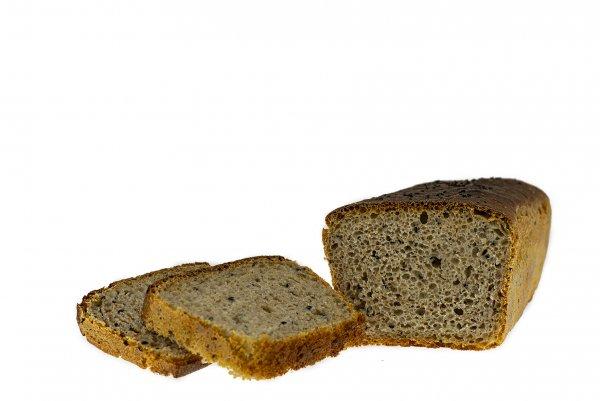 ekologiczny chleb z czarnuszką