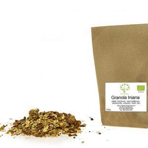 ekologiczna granola lniana