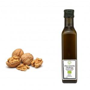 ekologiczny olej z orzechów włoskich
